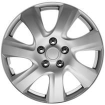 KT-1021-17S/L, 17 ABS WHEEL COVER SILVER/LACQUER