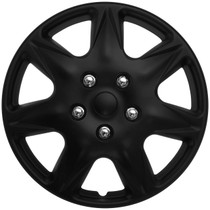 KT-915-17MBK, 17 ABS WHEEL COVER BLACK MATTE