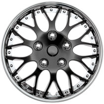 KT-970-16C/IB, 16 WHEEL COVER ICE BLACK / CHROME TRIM