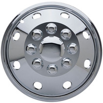 1PC-KT-231-16C, 16 DUAL WHEEL COVER SIMULATOR CHROME