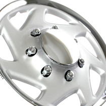 1PC-KT-317-16C/S, 1995-2000 FORD PICK-UP / VAN 16 WHEEL COVER CHROME/SILVER