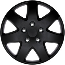 KT-962-14MBK, Universal, fits Toyota Paseo 1996, 1997, 1998, OEM Inspired Hub Caps