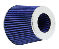 "K&N Engineering RG-1001BL Multi 6"" Od B X 5"" H W/4"", 3-1/2"", 3"" Dia FLG W/Inverted Top Universal Clamp-On Air Filter"
