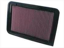 K&N engine air filter, washable and reusable: 2006-2017 Toyota/Lexus (Camry, Venza, ES250) 33-2370