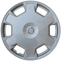 KT-1017-15S/L, 2007 - 2009 NISSAN VERSA 15 WHEEL COVER SILVER/LACQUER