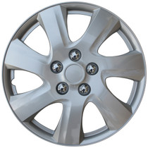 KT-1021-15S/L, 2010 TOYOTA CAMRY 15 WHEEL COVER SILVER/LACQUER