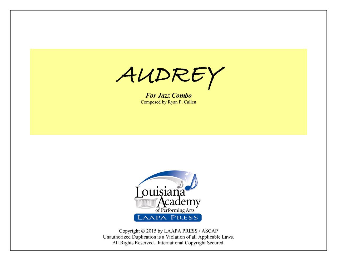 Audrey - for Jazz Combo (Score/Parts - PDF)