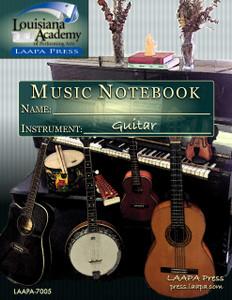 Music Assignment Notebook - Guitar Edition