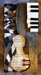 """Untitled'"" - Violin & Piano Art"