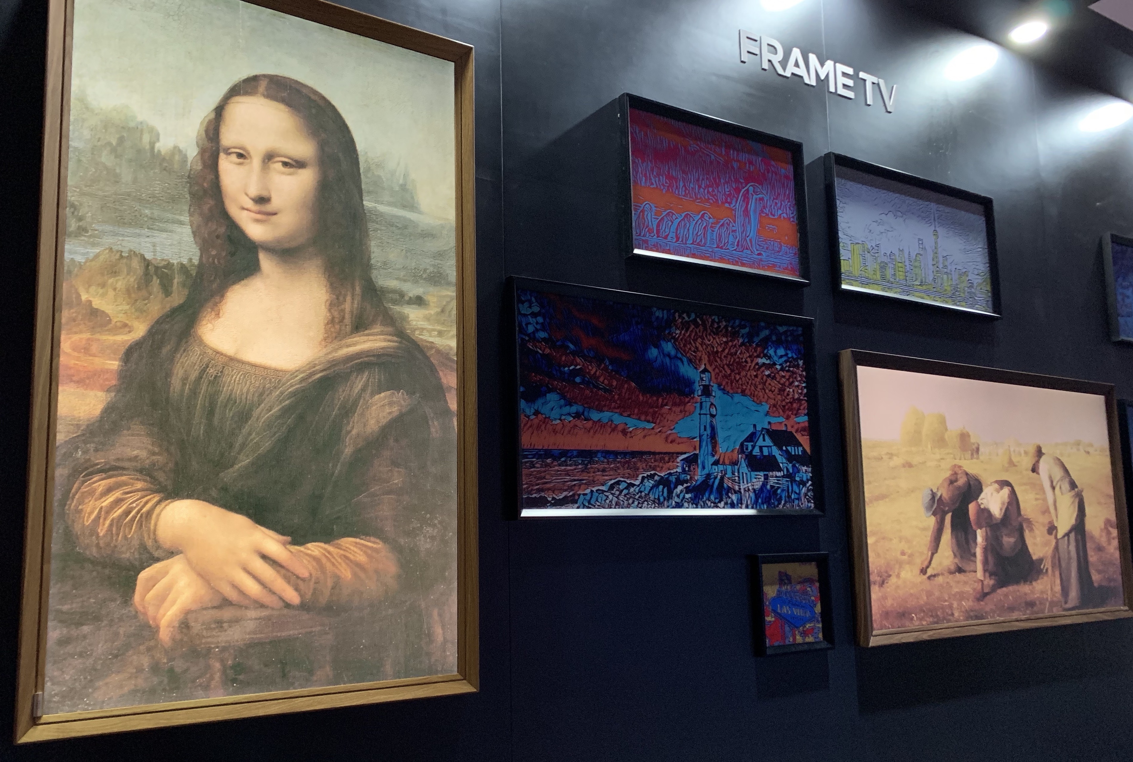 Frame Art TVs From CES