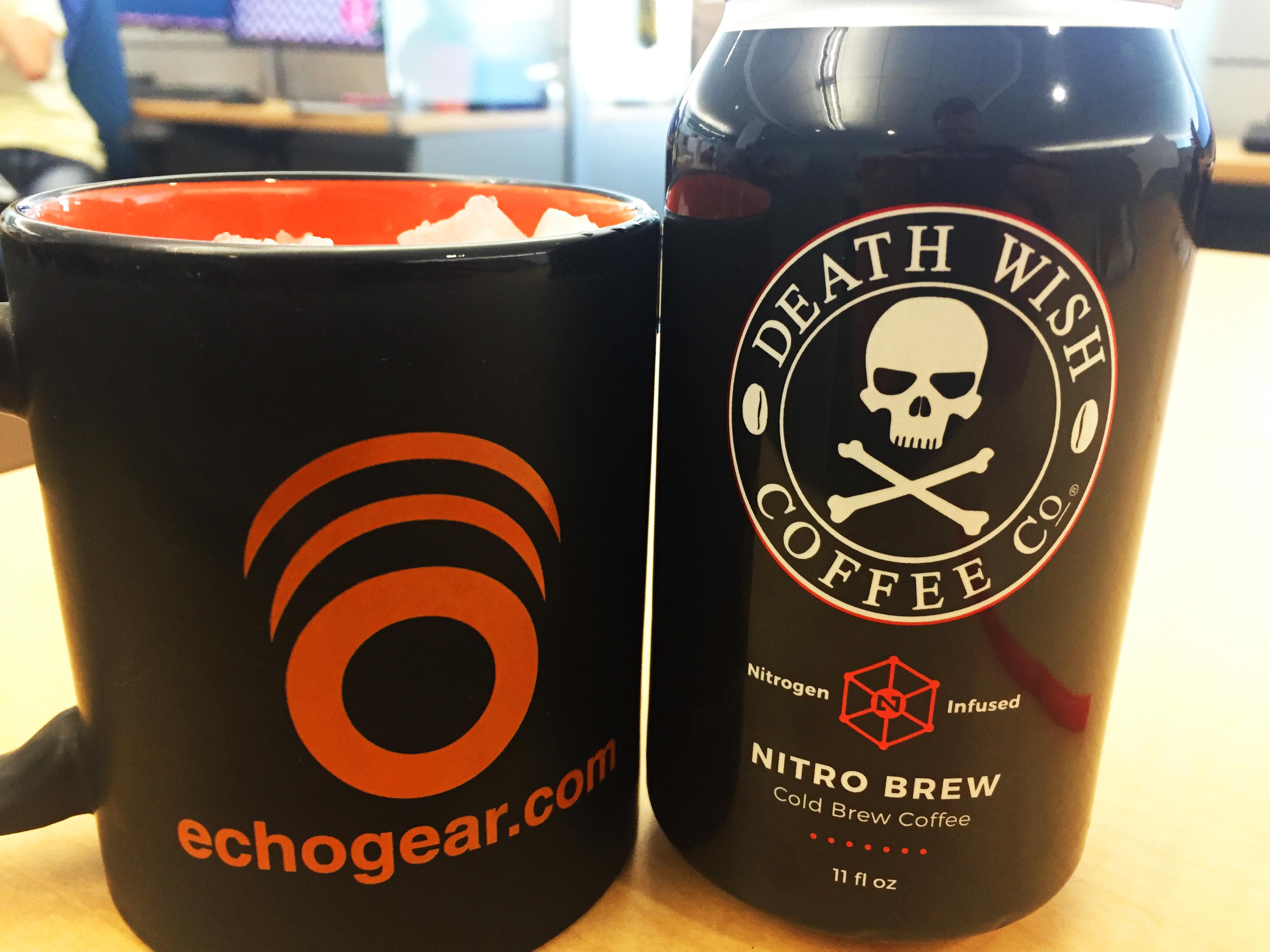 Death Wish Coffee Suomi