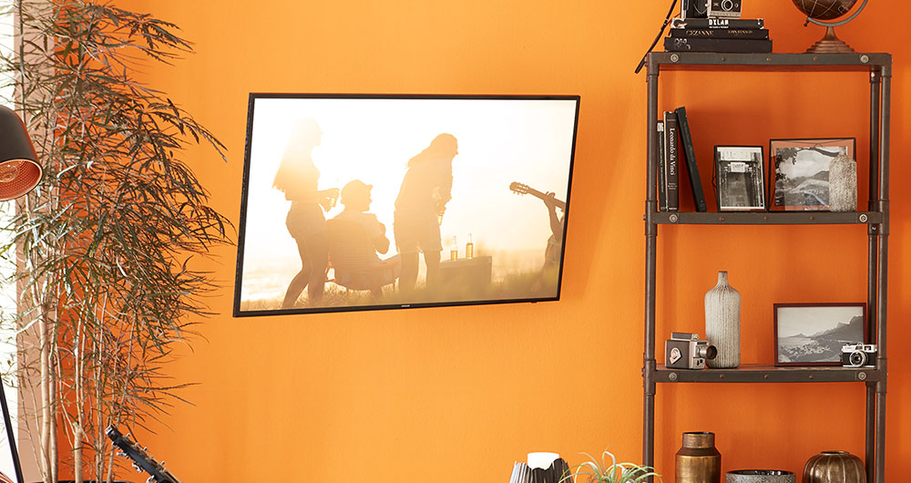"Mount TVs up to 80"" with full motion capabilities"