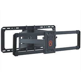 TV mount bracket wall plate