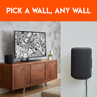The ideal solution to hang your Amazon Echo Plus on the wall
