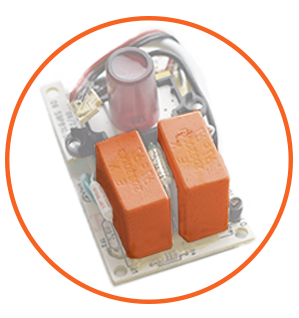 Fireproof surge protection components keep your home safe