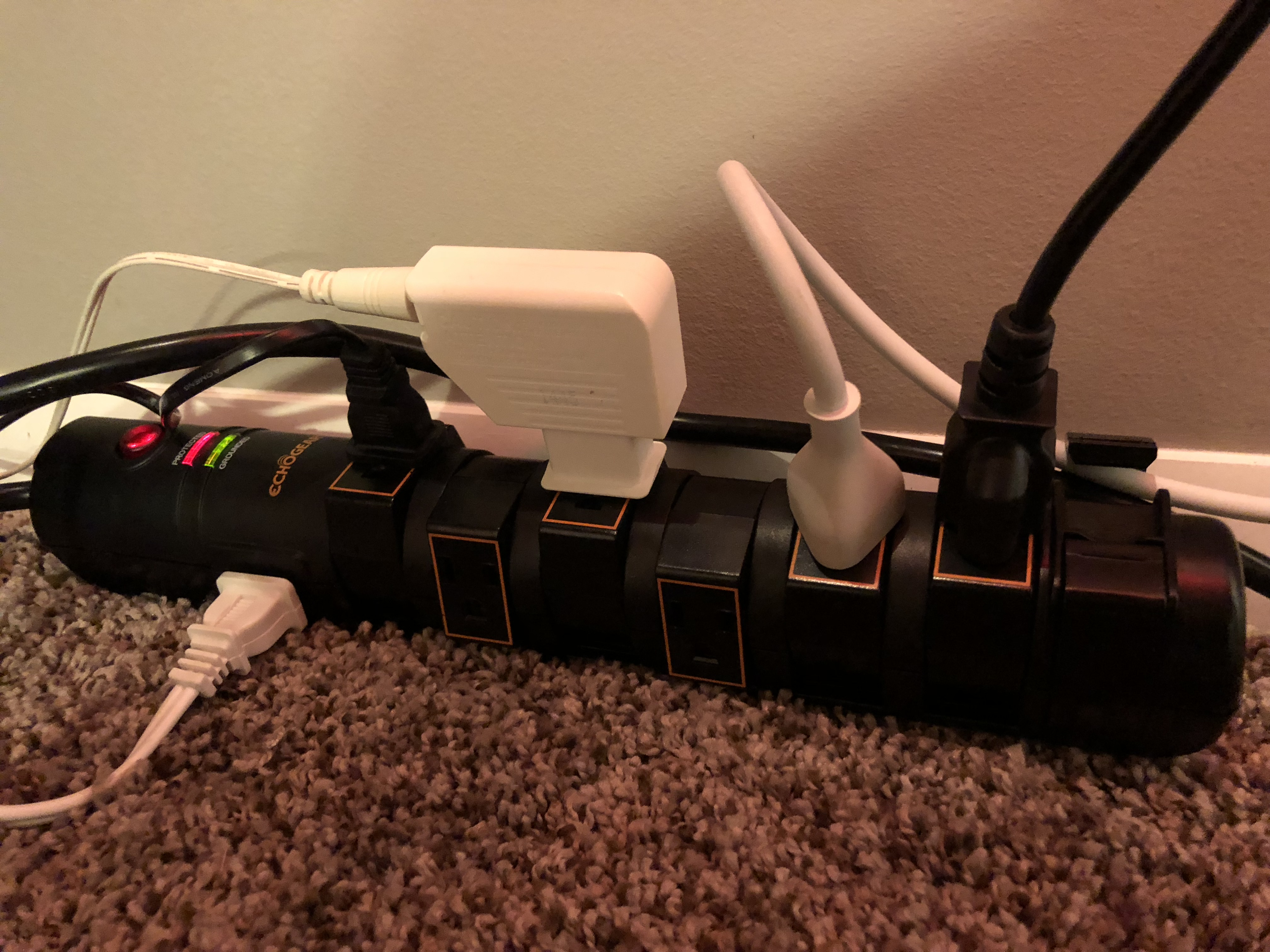 gaming computer power strip