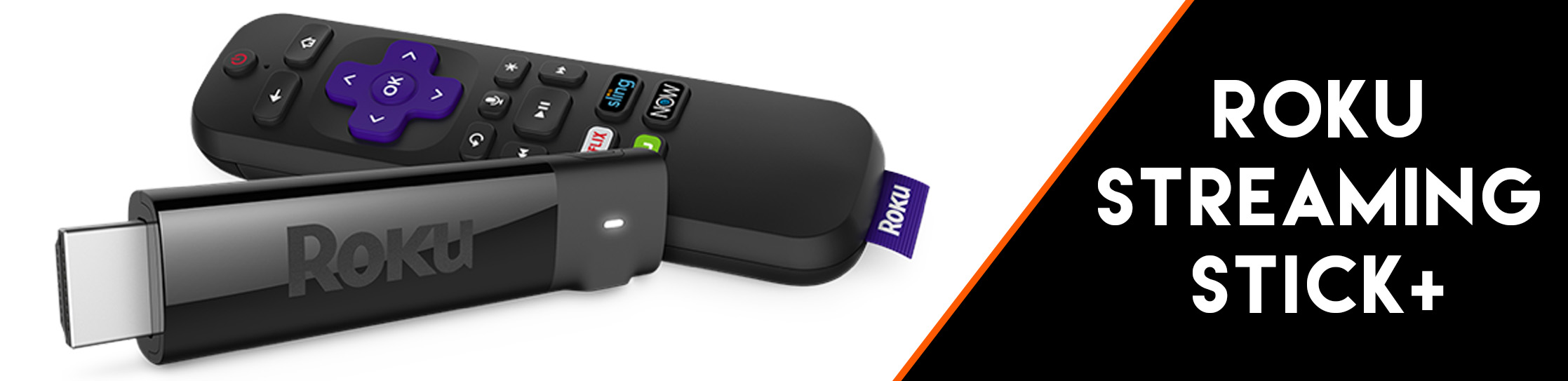 Roku Streaming Stick+ 4k