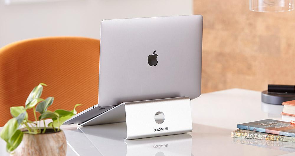 unibody aluminum laptop stand