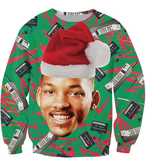 will smith fresh prince ugly sweater