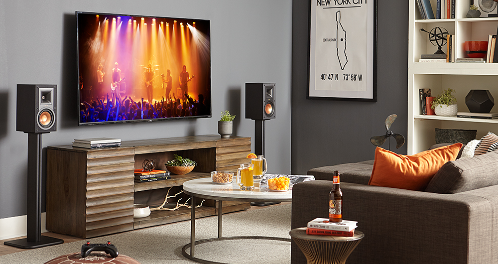 bookshelf speaker stands for Klipsch, sony, vizio, and more
