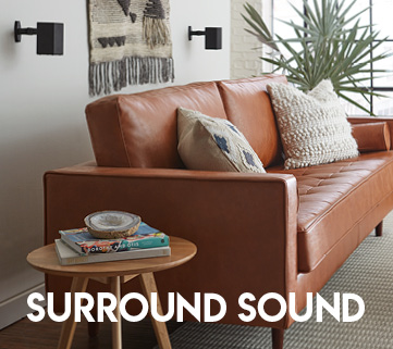 This echogear speaker mount offers great surround sound