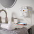 Pivoting heads and a low profile make this surge protector easy to use