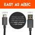 Connects your USB C powered devices to your computer