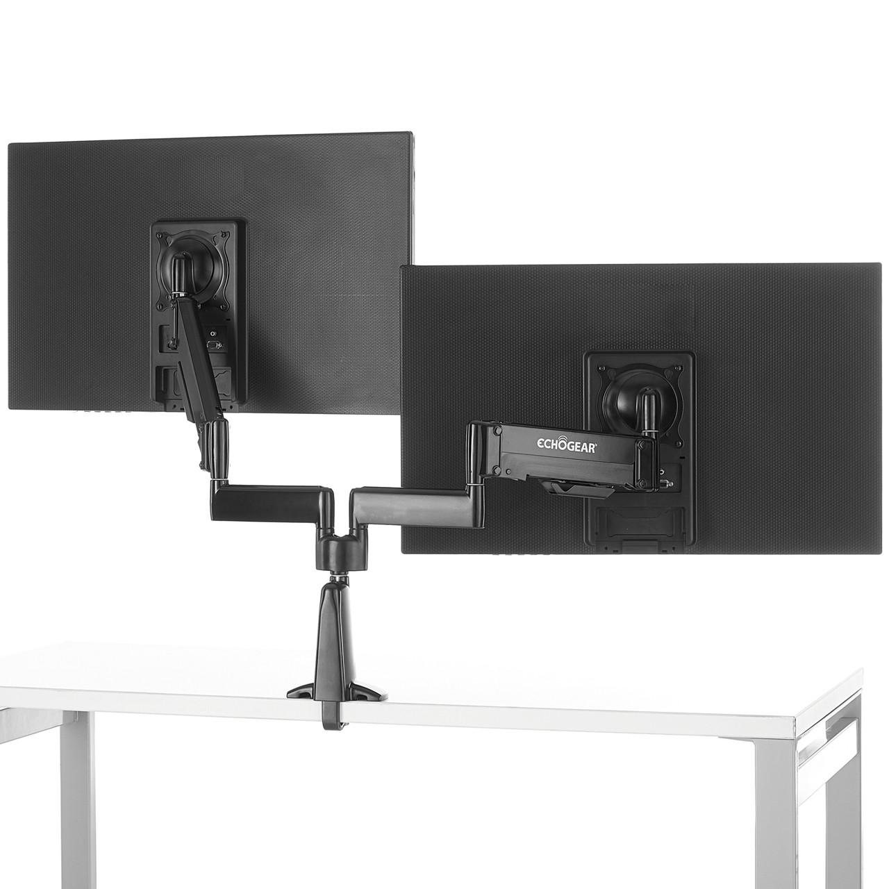 Pleasing Dual Monitor Desk Mount With Dynamic Gas Spring Adjustment Echo Gm2Fc Download Free Architecture Designs Xoliawazosbritishbridgeorg
