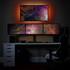 Yeah, it's badass. Get a triple monitor mount.