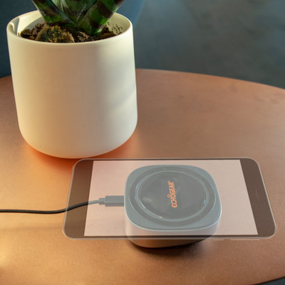 Wireless phone charger for Qi-Enabled devices