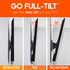Premium features in this series of tilt mounts make it a must for big tvs