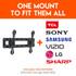 Compatible with all TVs, including TCL, Sony, Samsung, and Vizio
