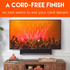 Forget about cords, this kit will hide all the wires from your soundbar and TV at the same time