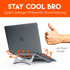 Keeps your laptop cool while working