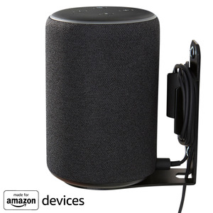 Black wall mount for echo plus 2nd gen