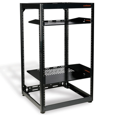 Echogear Open Frame Rack with Vented Shelves