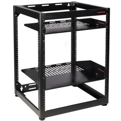 Open frame server rack 15U
