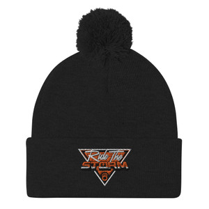 Ride The Storm Puff Ball Winter Hat