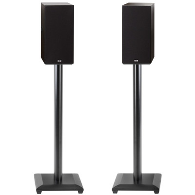 """28"""" bookshelf speaker stand for speakers weighing up to 25 lbs."""