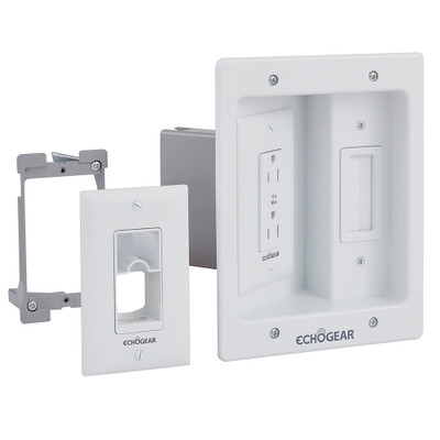 In-Wall Power and Cable Management