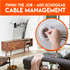 Add cable management to give your living room that perfect clean look