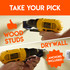 Install into wood or drywall your pick both work