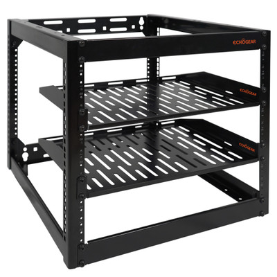 Open frame server rack 10U
