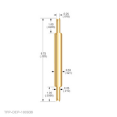 TX-DEP-100938 Double Ended Probe (Crown / Crown)