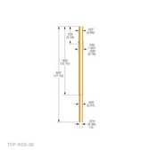 TX-RSS-30 RECEPTACLE (Pack of 25 @ $2.65/ea)