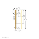 TX-RSS-0-R RECEPTACLE (Pack of 25 @ $1.15/ea)
