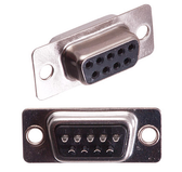 D-Sub DB9 Female Solder Cup Connector