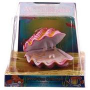 Action Air Tropical Clam Live-Action Aerating Aquarium Ornament - Color May Very