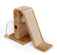 Penn Plax Activity Center for Cats with Slide and Post Net