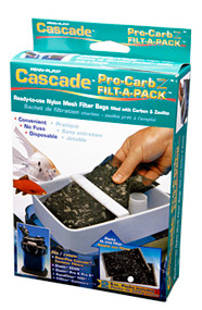 Penn Plax Cascade Pro-Carb Canister Filter for Aquariums 2-Pack